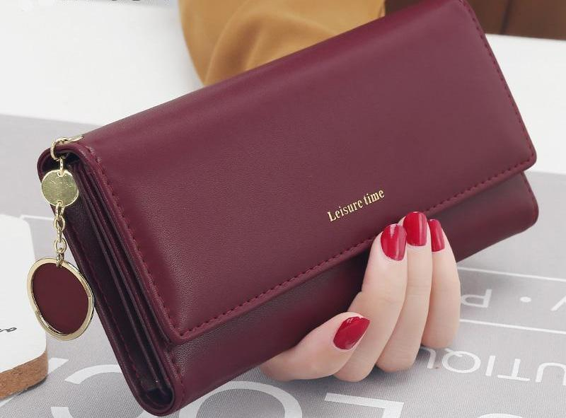 Charming Long Multi-Functional Woman Wallet