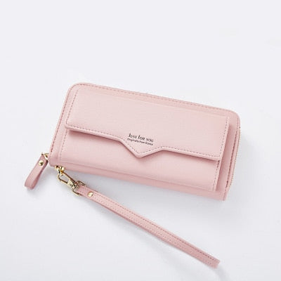 Long Fashion Woman Wallet