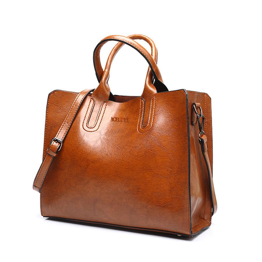 Awesome Leather Handbag For Modern Woman