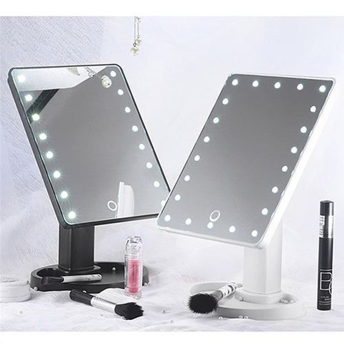 LED Lighted Mirror - Simply Marble