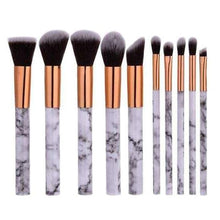 10 Piece Marble Brush Set - Simply Marble