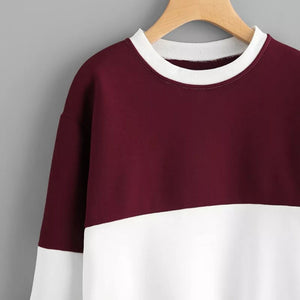 Dual Tone Crew Neck - Simply Marble