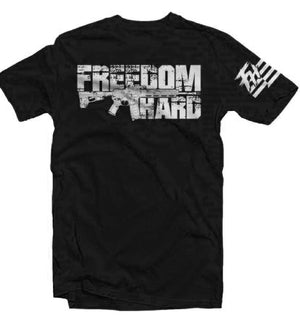 Freedom Hard Black Tee