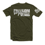 Freedom Hard Green Tee