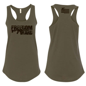 Women's OD Green & Black Tank