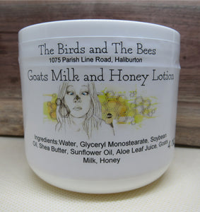 Goats Milk & Honey Lotion
