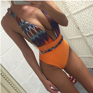Sexy One Piece Swimsuit Trikini