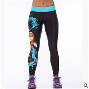 Women Leggings 3D Printed