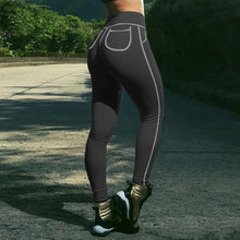 Sexy hip Legging Slim pocket