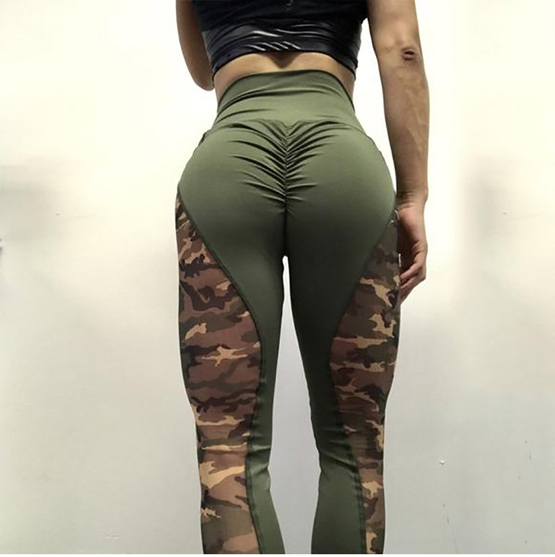 26be258bce1bc High Waist Women Camouflage Workout Leggings – THE X DEALS