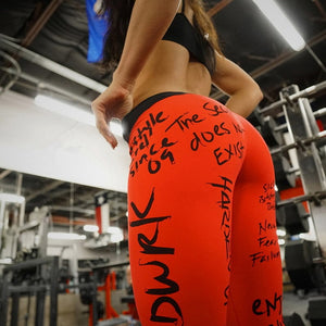 Streetwear Push Up Leggings