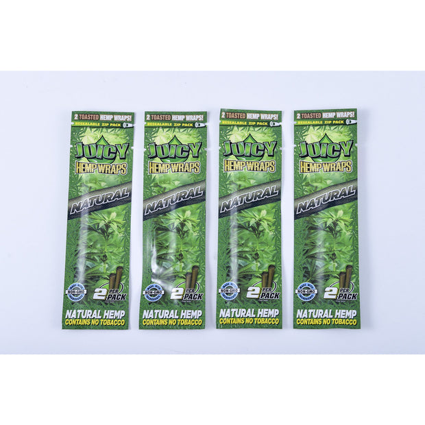Juicy hemp wraps (natural)