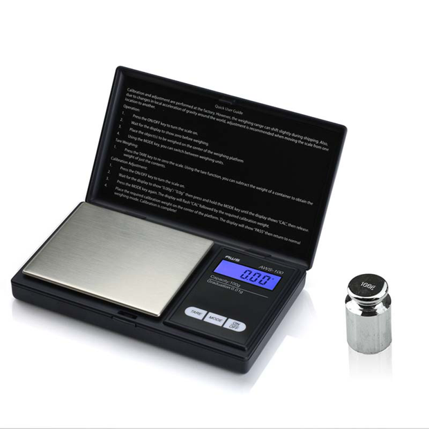AWS 100 Digital PocketT Scale