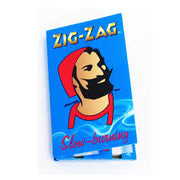 Zig Zag Blue Slow Burning Rolling Papers