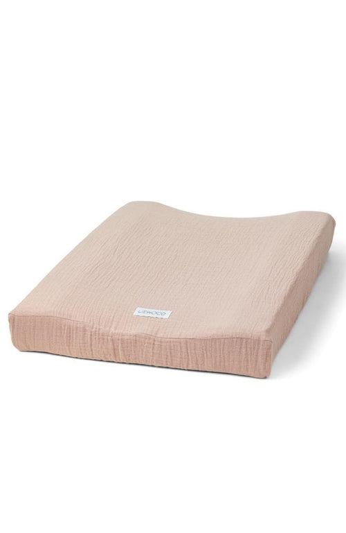 Cliff Muslin Changing Mat Cover - Rose