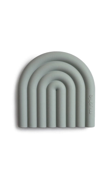 Finger toothbrush - Shifting Sand/Cambridge Blue