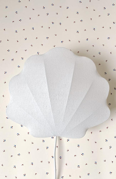 Sea Shell Lamp - Off White