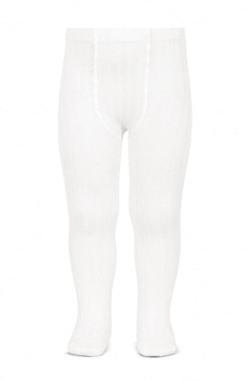 Rib Stockings - 200 White
