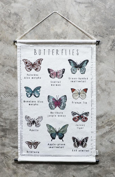 School Poster - Butterfiles