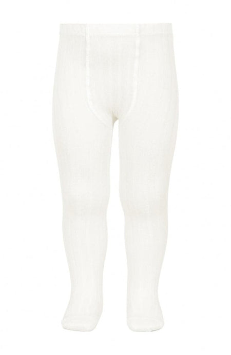 Side Lace Knee-high Socks - 200 White