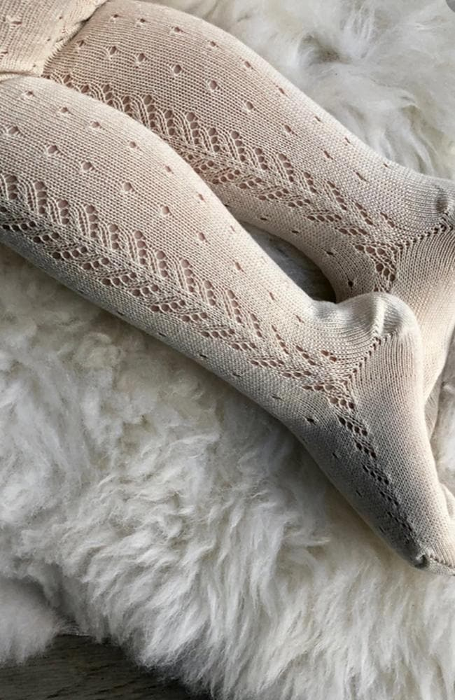 Lace Stockings - 304 Linen