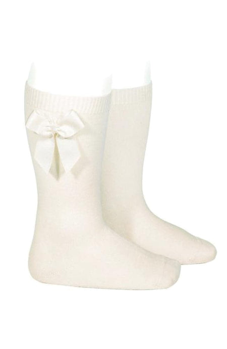 Rib Stockings - 202 Cream