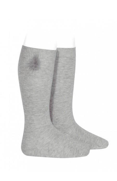 Rib Stockings - 304 Linen