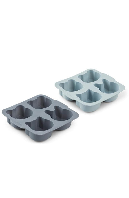 Mariam cake pan - Blue mix