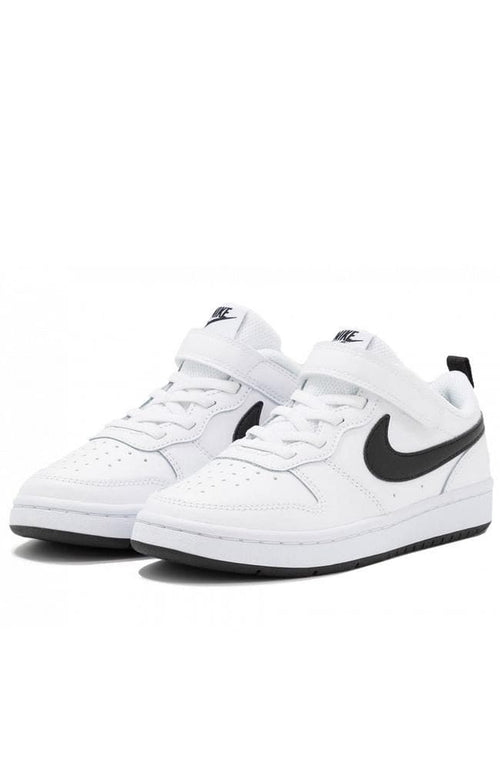 Court Borough Low - White/Black