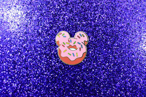 Magical Mouse Donut Pin - Plain