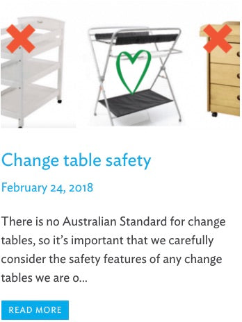 Change table safety