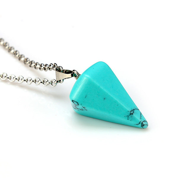 and crystal image vintage natural chakra pendant zone necklace free shipping trendy products product
