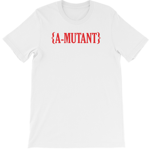 A-MUTANT WHITE LOGO SHIRT
