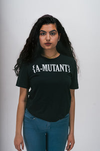 A-MUTANT BLACK LOGO SHIRT