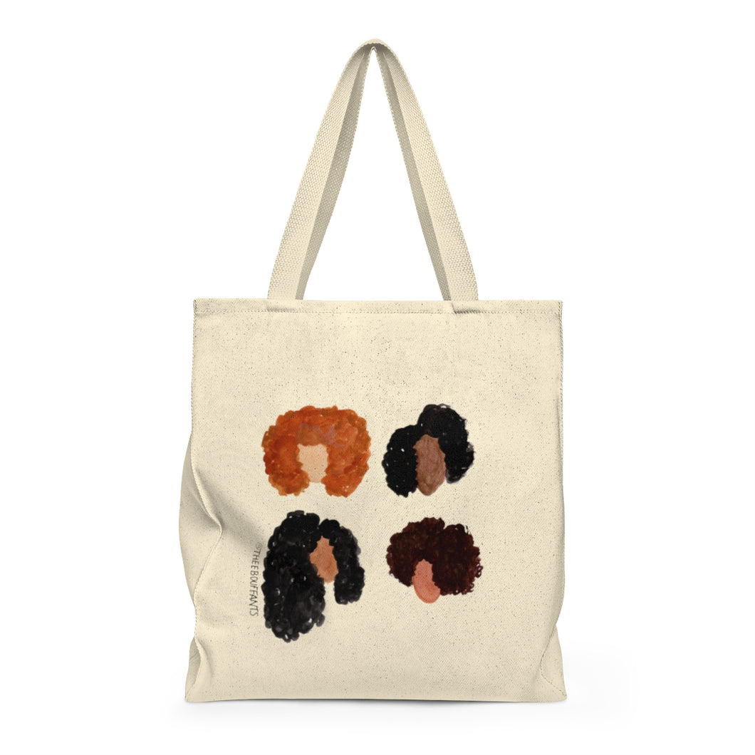 Natural Hair Girls Tote