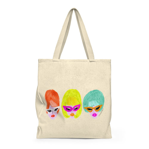 Bouffant Girls Tote