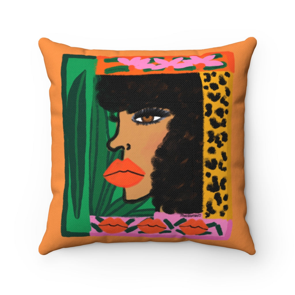 Funky Friday Square Pillow