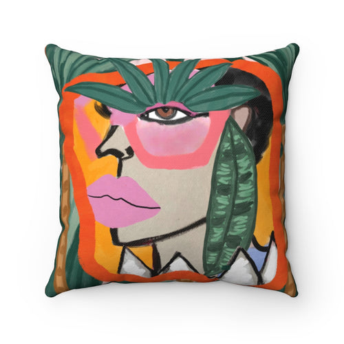 Funky Friday II Square Pillow
