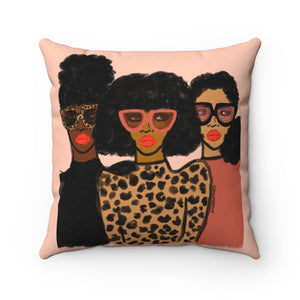 Shade Squad Square Pillow