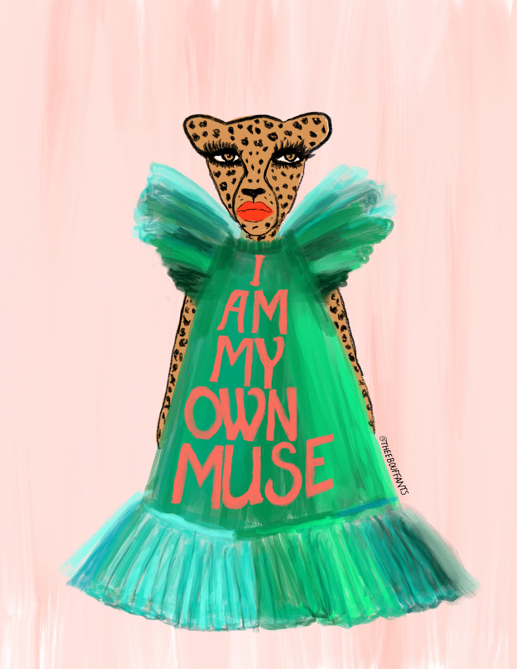 I Am My Own Muse Print