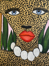 Cheetah in the Jungle Mural