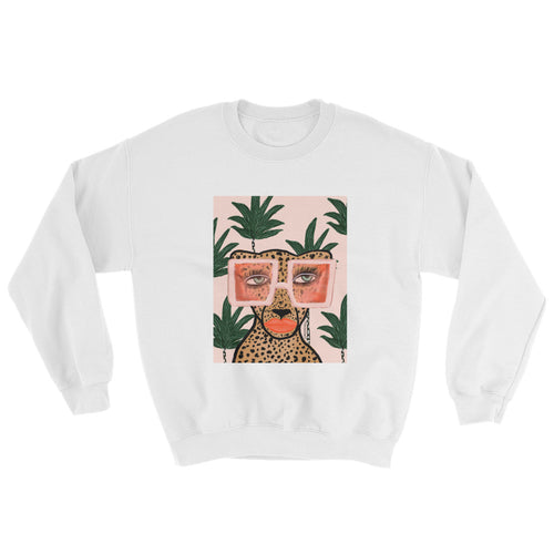 Tropical Cheetah Sweatshirt