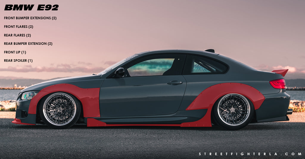 BMW E92 Wide Body Kit