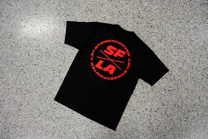 StreetFighter LA Logo T-Shirt (Black/Red)