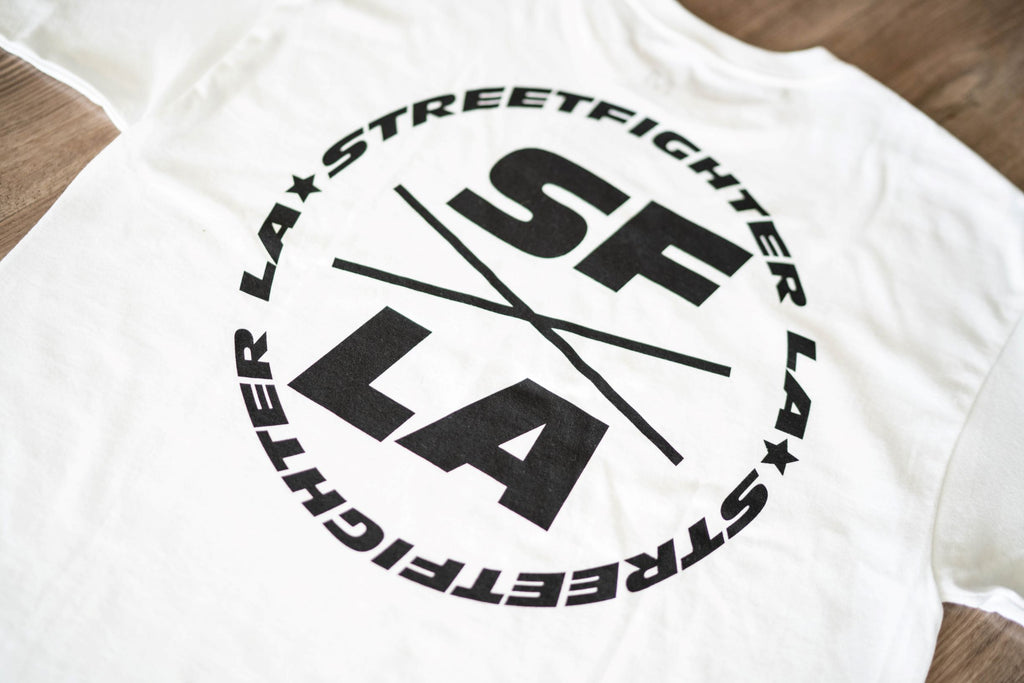 "STREETFIGHTER LA NEW LIMITED EDITION ""WHITE T-SHIRT"""