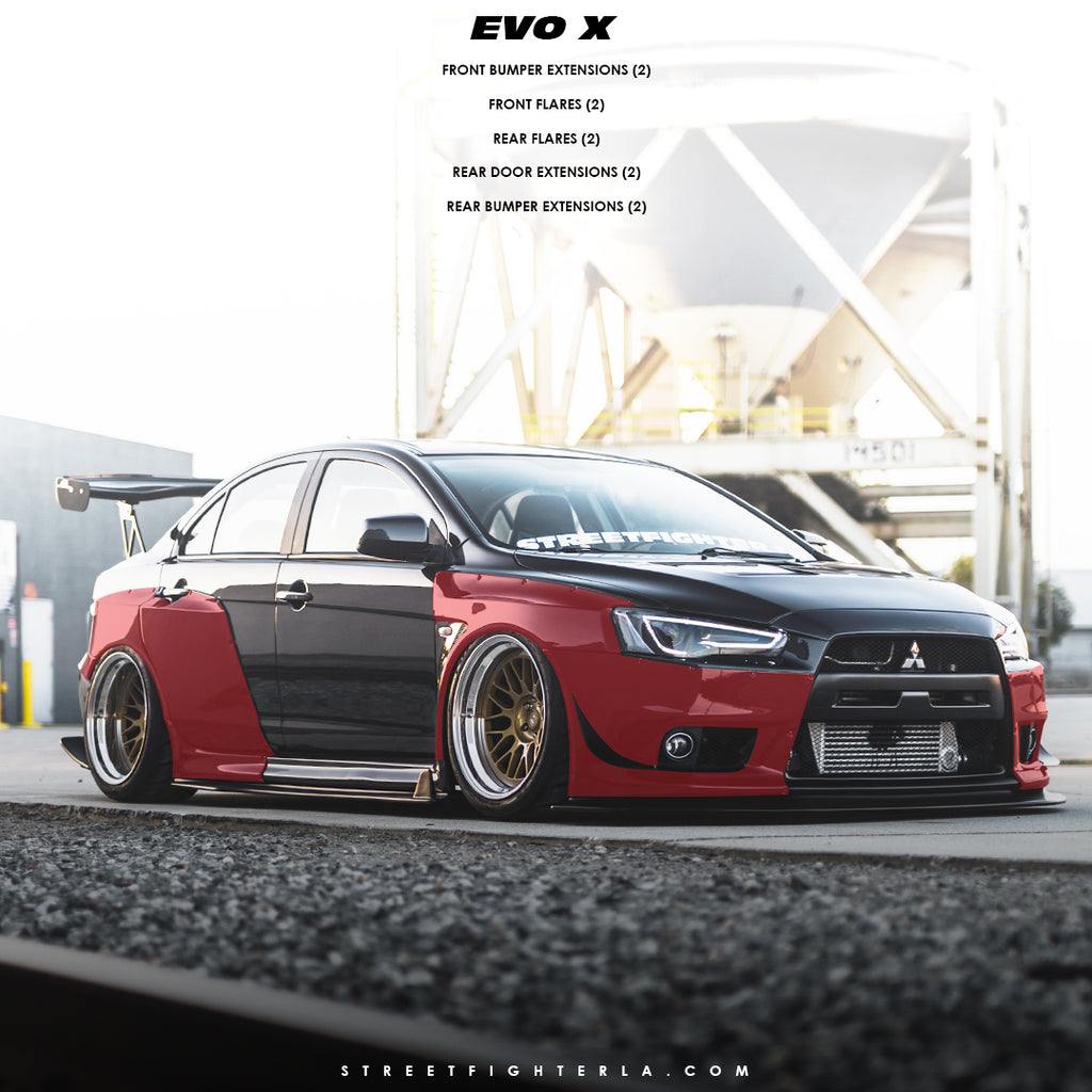 EVO X Wide Body Kit