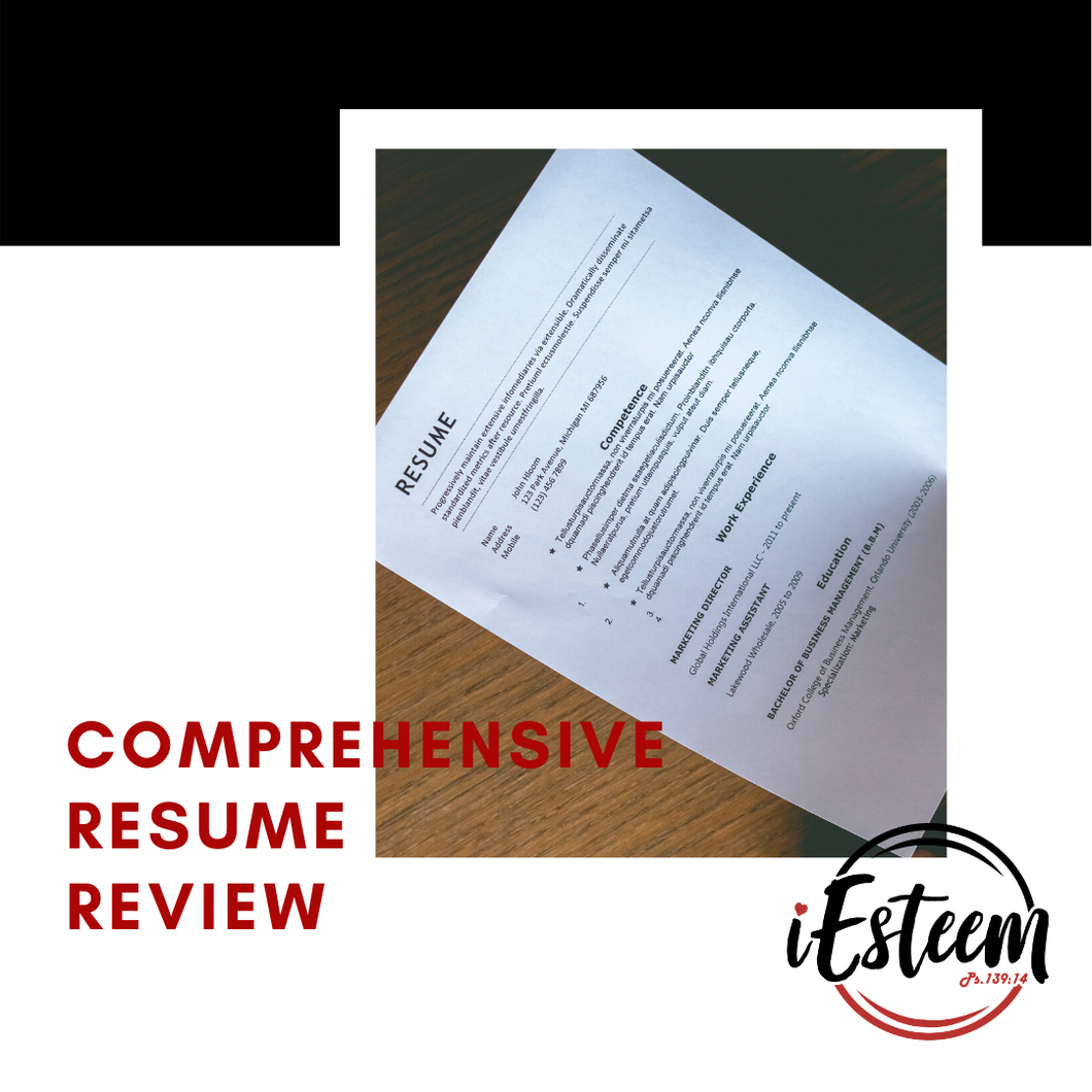Comprehensive Resume Review