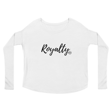 Load image into Gallery viewer, Royalty Ladies' Long Sleeve Tee