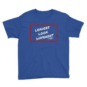 Leaders Look Different - Youth Short Sleeve T-Shirt