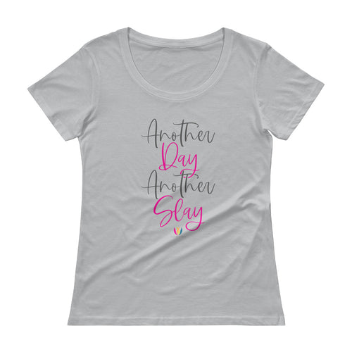 Another Day Another Slay - Scoopneck T-Shirt